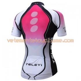 Maillot vélo Femme 2017 Teleyi N014