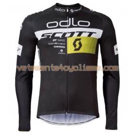 Tenue Cycliste Manches Longues et Collant à Bretelles 2016 Scott N003