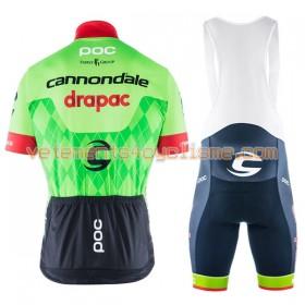 Tenue Cycliste et Cuissard à Bretelles 2017 Cannondale-Drapac N001