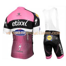 Tenue Cycliste et Cuissard à Bretelles 2016 Etixx-Quick Step N010