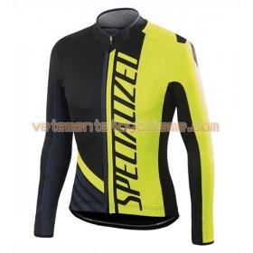 Tenue Cycliste Manches Longues et Collant à Bretelles 2016 Specialized N003