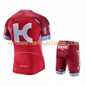 Tenue Cycliste et Cuissard Enfant 2017 Team Katusha-Alpecin N001