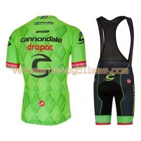 Tenue Cycliste et Cuissard à Bretelles 2016 Cannondale-Drapac N002