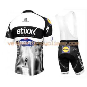 Tenue Cycliste et Cuissard à Bretelles 2016 Etixx-Quick Step N012
