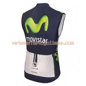 Gilet Cycliste 2016 Movistar Team N001