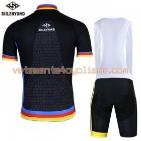 Tenue Cycliste et Cuissard à Bretelles 2017 Siilenyond N024