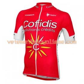 Tenue Cycliste et Cuissard à Bretelles 2016 Cofidis Pro Cycling N001