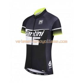 Tenue Cycliste et Cuissard à Bretelles 2016 Santini N006