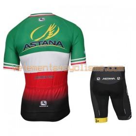 Tenue Cycliste et Cuissard Enfant 2017 Astana Pro Team Championnats de Italie