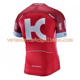 Maillot vélo 2017 Team Katusha-Alpecin N001