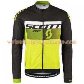 Tenue Cycliste Manches Longues et Collant à Bretelles 2016 Scott N006