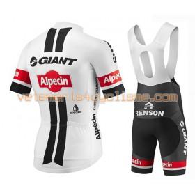Tenue Cycliste et Cuissard à Bretelles 2016 Giant-Alpecin N002