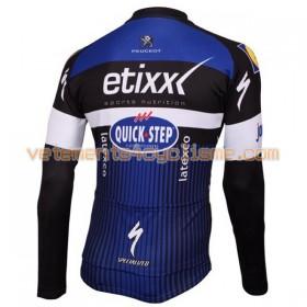Maillot vélo 2016 Etixx-Quick Step Manches Longues N001
