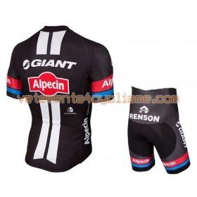 Tenue Cycliste et Cuissard à Bretelles Enfant 2016 Giant-Alpecin N008