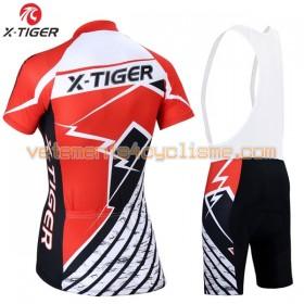 Tenue Cycliste et Cuissard à Bretelles Femme 2017 X-Tiger N009
