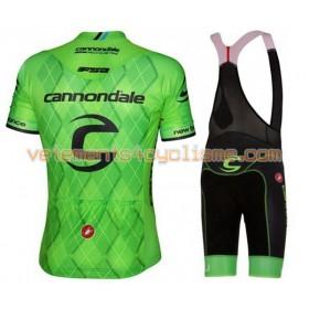 Tenue Cycliste et Cuissard à Bretelles 2016 Cannondale-Drapac N001
