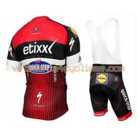 Tenue Cycliste et Cuissard à Bretelles 2016 Etixx-Quick Step N002