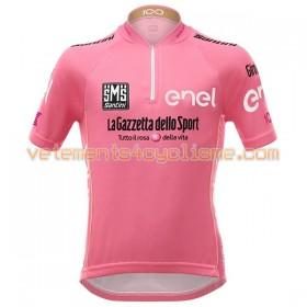 Maillot vélo Rouge 2017 Giro dItalia