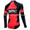 Tenue Cycliste Manches Longues et Collant à Bretelles 2016 BMC Racing Team N001